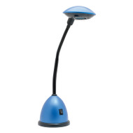 Mercator Cassie 3w LED Desk Lamp Blue