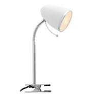 Mercator Sara Study Clamp Lamp White