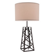 Mercator Thor Timber Table Lamp