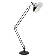 Mercator Chad Reading Floor Lamp Black