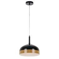 Telbix Bresno 30 Hanging Pendant Black/Oak