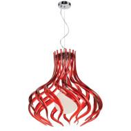 Telbix Mantis Acrylic Hanging Pendant Red