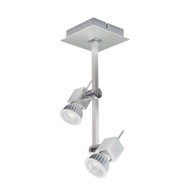 Brilliant Planet 2lt GU10 LED Spotlight Aluminium