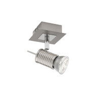 Cougar Aquila 1lt GU10 Spotlight Brushed Chrome