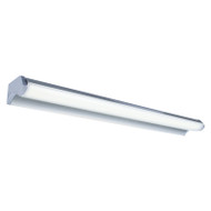 Brilliant Greta II 91cm 18w LED Vanity Wall Light Silver