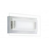 Eglo Tano Chrome & Glass LED Wall Light