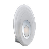 Telbix Elsa Frost Glass LED Wall Light Oval