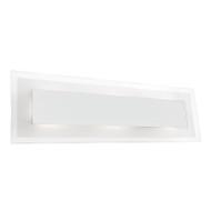 Mercator Declan Chrome & Glass LED Wall Light