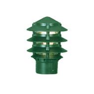 Mercator Pagoda Louvre Garden Post Top Only Green