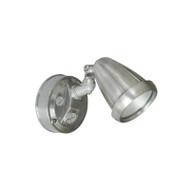 Telbix Titan 1 X 6w LED Exterior Spotlight Nickel