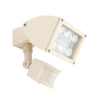 Mercator Zone 1 X 12w LED Exterior Spotlight & Sensor Beige