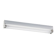 Fuzion/ND Light Twin 18w Bare Batten Fluorescent Ceiling Light