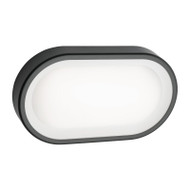 Mercator Arena Small LED Exterior Wall Light Graphite