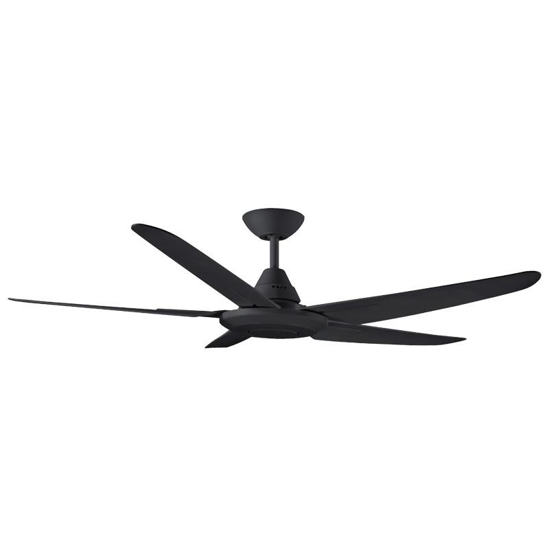 Phenomenal Deka Randle 130Cm Black Plastic Indoor Outdoor Ceiling Fan Download Free Architecture Designs Scobabritishbridgeorg