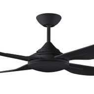 Deka Ingram 130cm Black Plastic Indoor/Outdoor Ceiling Fan