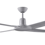 Deka Fisher 130cm Silver Plastic Indoor/Outdoor IP55 Ceiling Fan