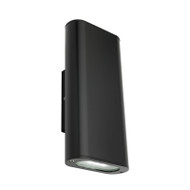 Mercator Parkdale LED Exterior Up/Down Wall Light Black