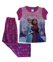 Disney Frozen Anna and Elsa Premium Pajama Set, Girls Size 6/6X Small