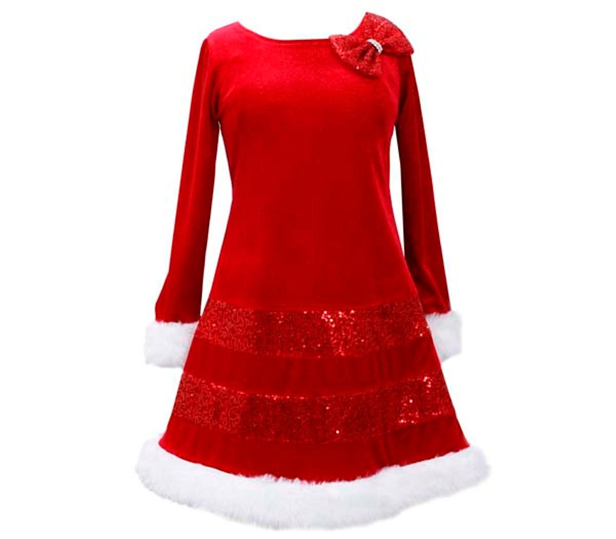 67cf47e5f Bonnie Jean holiday Christmas red Dress