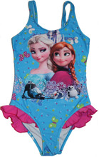 Frozen Elsa  Anna Olaf Swimsuit Princess Swimwear