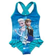 Frozen Queen Elsa Anna Girls 1 Piece Swimsuit