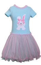 Bonnie Jean Big Girls Bunny Holiday Easter Multi Polka Tutu Pink Dress 7 8 10 12