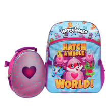 Hatchimals 16 inch Backpack & Lunch Bag Set