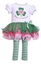 Bonnie Jean Baby-Girls St Patrick's Day Shamrock Legging Set 0-24 Months