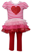 BONNIE JEAN Baby Girls/' 24M Tutu Sweater Dress /& Leggings Set NWT $48