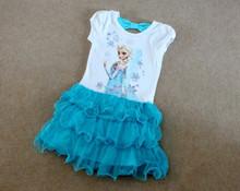 Frozen Girls Outfits Princess Queen Elsa Tutu Birthday Dress