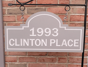 Personalize This Sign - Clinton Place