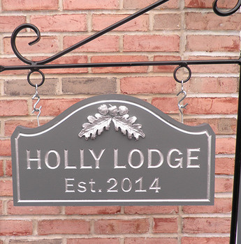 Personalize This Sign - Holly Lodge - SHAPE M