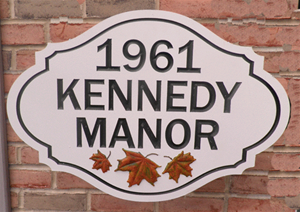 Personalize This Sign - Kennedy Manor - Shape H