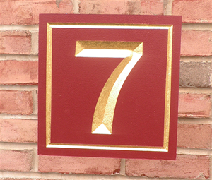 Personalize This Sign - Seven - Shape L
