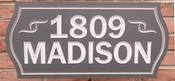 Personalize This Sign - Madison - Shape R