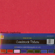 12x12 Cardstock Collection Scrapbooking Paper Pack 24 Sheets Palette DMD New