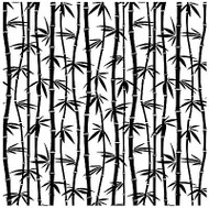 Bamboo Cover A Card Background Unmounted Rubber Stamp Impression Obsession New