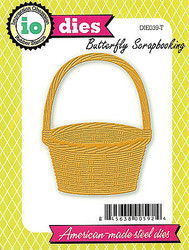 Basket American Made Steel Die Impression Obsession DIE039-T Easter Basket New