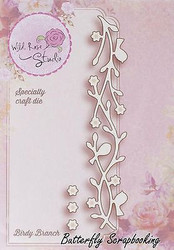 Bird Branch Die Creative Steel Die Cutting Dies WILD ROSE STUDIO SD016 New