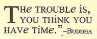 Buddha Quote, Wood Mounted Rubber Stamp IMPRESSION OBSESSION - NEW, B14243