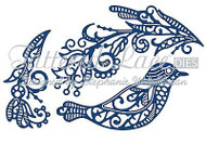BUILD A BIRD Sun Gem Set DIES Craft Die Cutting Die Tattered Lace Dies D741 New