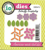 Build A Flower Set American made Steel Dies by Impression Obsession DIE047-J New