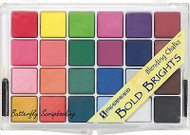Chalks Blending Chalk Bold Tones 24 Chalks 2 Applicators INKADINKADO 05843 New