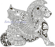 CHIMERA Animal Spirit Cling Unmounted Rubber Stamp EARTH ART Sue Coccia New