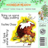Christmas Figgy Mice Unmounted Rubber Stamps MOONBEAM MEADOW MMX-ST-CHER-EZ New