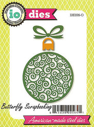 Christmas Ornament American made Steel Dies by Impression Obsession DIE026-O New