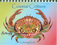 Coloring Book Costal Criters Animal Spirits 15 Pages EARTH ART Sue Coccia New