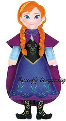 Disney FROZEN ANNA Felt Fun Sewing Embroidery Kit by Dimensions 72-74477 NEW