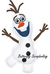 Disney FROZEN OLAF Felt Fun Sewing Embroidery Kit by Dimensions 72-74479 NEW