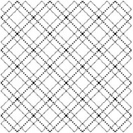 Dotted Argyle Cover A Card Background Unmounted Rubber Stamp IO Stamp CC175 New